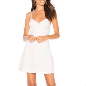 Amanda Uprichard Toni Bodycon White Mini Dress